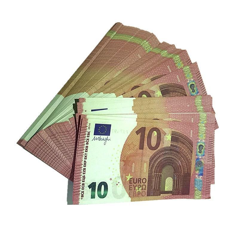 Bar Requisiten Movie Magic Show Requisiten 100 Bills Euro Spielzeug Währung Party Fake Geld Kinder Geschenke Großhandel H6