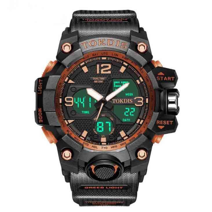 Vente en gros de nouvelles montres de sport Montres pour enfants Montres électroniques pour enfants Modèles d'explosion multifonctions étanches Modèles de fabricants Spot