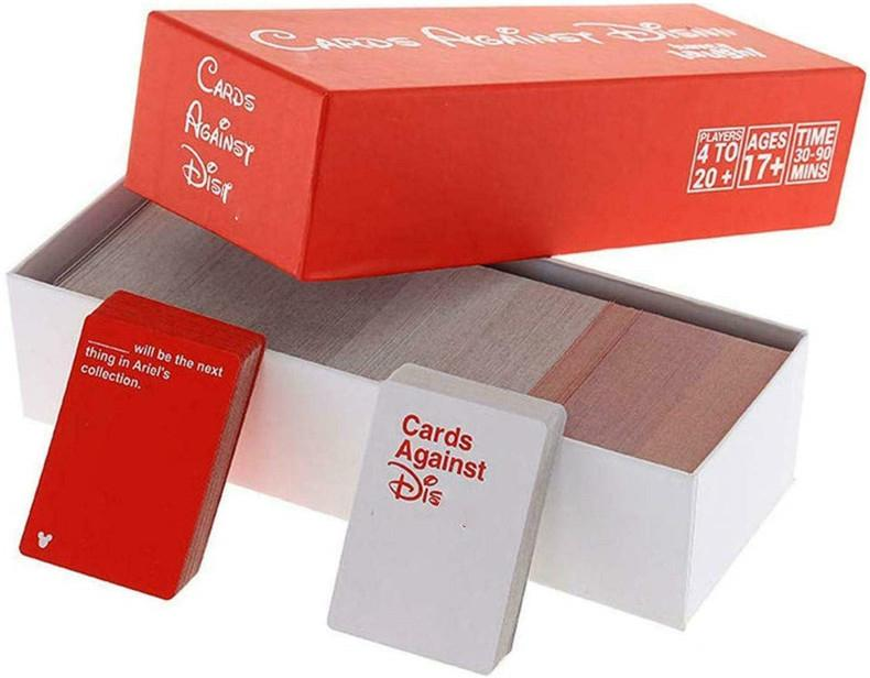 Edição Original CADS Contra Dis Edition contém 828 Cartões 260 Black Cards 568 branca Cartões Red Box Black Box