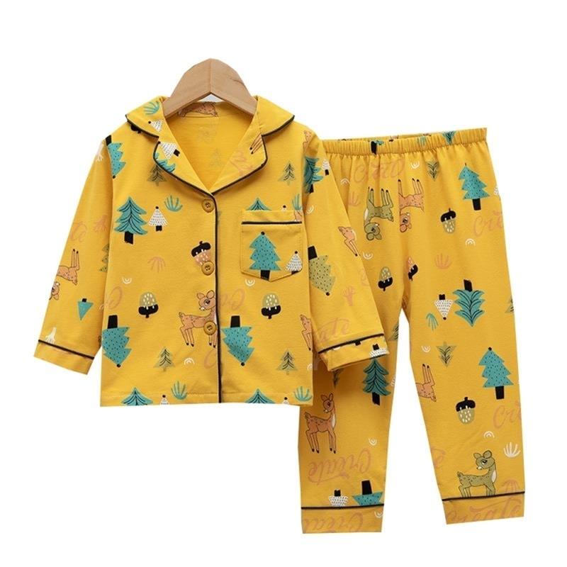SaileroRoad crianças desenhos animados dinossauros pijamas para meninas crianças impresso pijama meninas pijamas pijamas casa desgaste meninos sleepwear 201225
