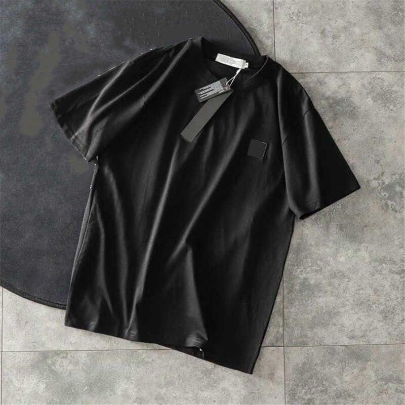 20SS tono de la camisa para hombre de moda las camisetas hombres y mujeres de manga corta Top tes de las tapas camisas para hombre ropa 3 colores tamaño asiático M-2XL