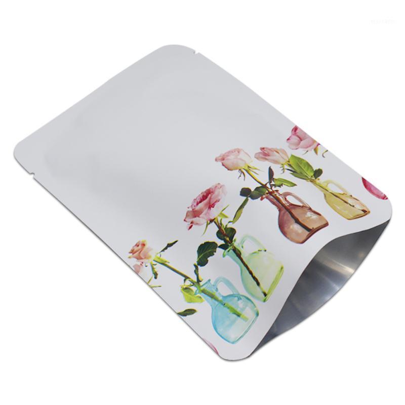 Подарочная упаковка розничная 200 шт. / Лот маленький матовый белый майлар вакуумный открытый верхние сумки термоусадку алюминиевая фольга для кофе упаковка1
