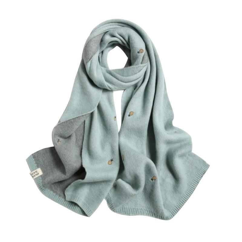 2021 Moda Invierno Mantenga la bufanda cálida Bufanda de alta calidad Bufandas de cachemira para las mujeres China Accesorios de estilo estudiante de estilo encantador para el amante de los hombres