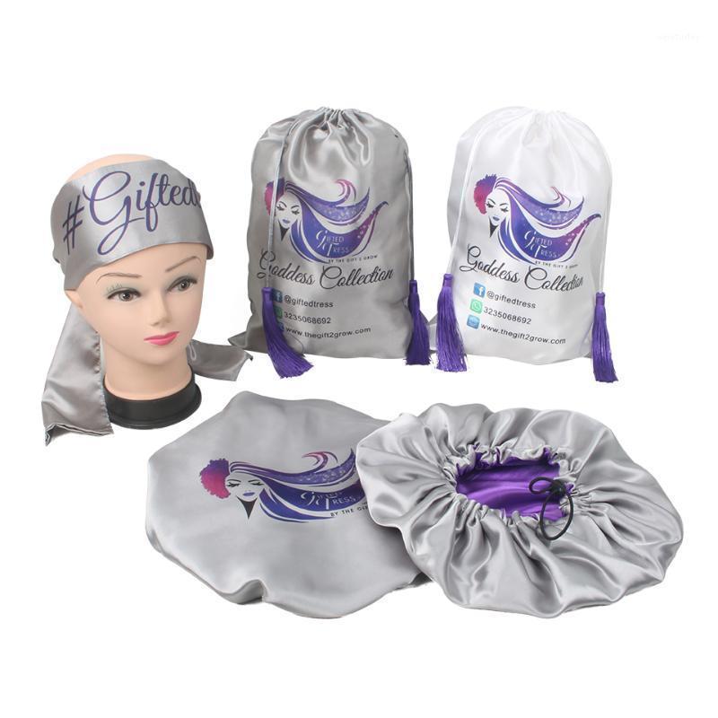 Estensioni per capelli umani personalizzati di lusso Le estensioni dei capelli Bundles Set di imballaggio, cuscino, fascia, cofano, Autoadesivi wrap, tag hang, satin bag1