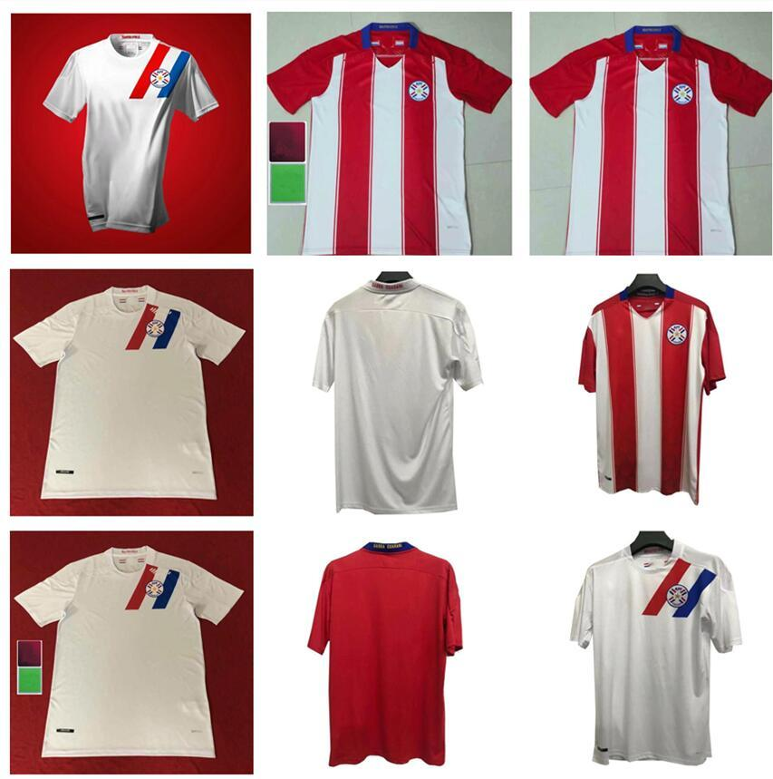 2020 2021 2021 Paraguay Soccer Jerseys Home Online Home Away A.ROMERO F.Balbuena M.Almiron Football Jerseys Camiseta de Paraguay 20/21