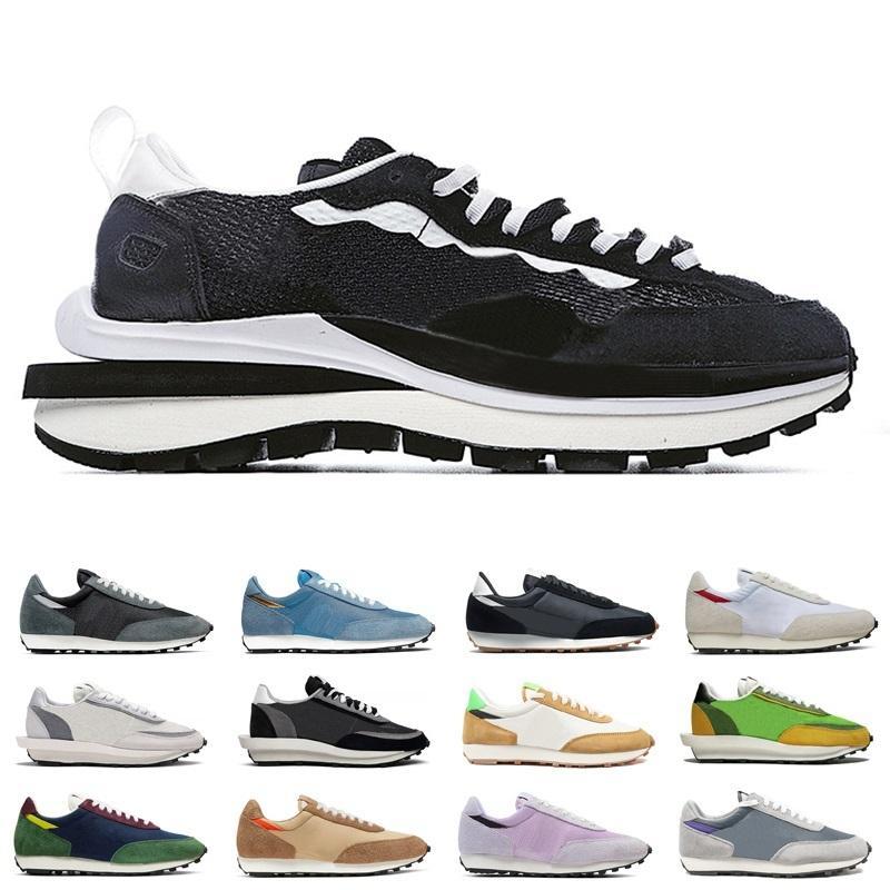 donne uomini classici ldv ld waffl Running Shoes Pure Platinum universitari Arancione Parigi DONNA UOMO meglio all'aperto comode scarpe formatori 36-45