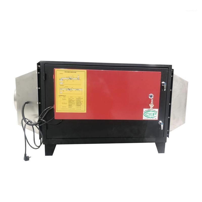Precipitador electrostático comercial Tostador de café después del quemador Eliminación de humo Filtro de aire de humo para café tostador1