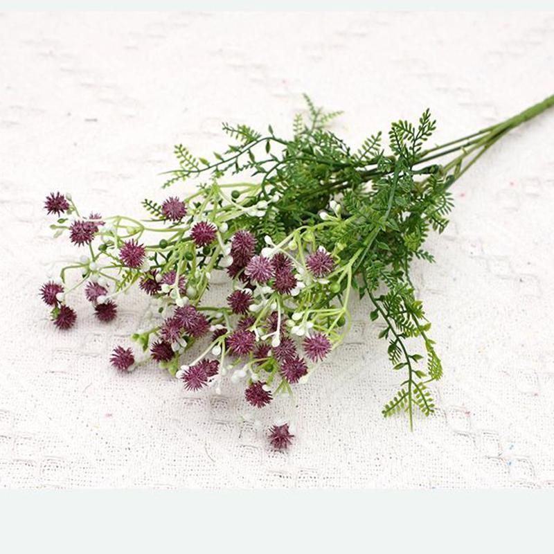 Ложная поддельная цветочная букет из искусственного гипсофила длинный букет белый ветвь высокое качество домашний свадебный декор подарок искусственные цветы