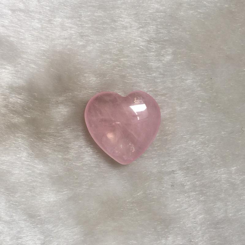 Природные розовые кварцевые сердца формы влюбленности Мини кристалл чакра целебный дом декор Reiki целебный камень любовь драгоценные камни DIY ювелирные изделия Новый 85 G2