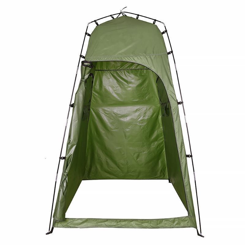 210T Полиэстер Открытый Душевая Палатка Изменение Комнаты Конфиденциальность Палатка Кемпинг Портативный Портативный Кемпинг Пляж Открытый Аксессуары