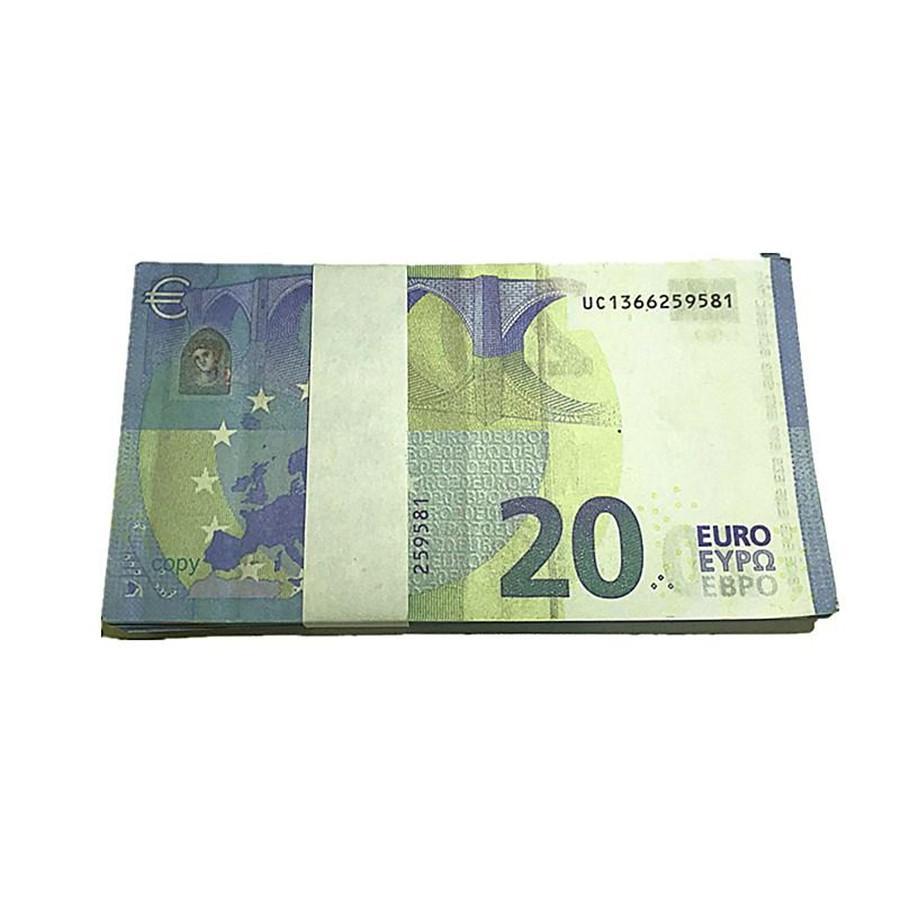 Vente en gros spectacle Movie Magic accessoires I7 Toy 100 Devise de la partie Euro KXCTC Faux Money Bills Cadeaux Barre d'enfants Accessoires d'enfants RFEPG