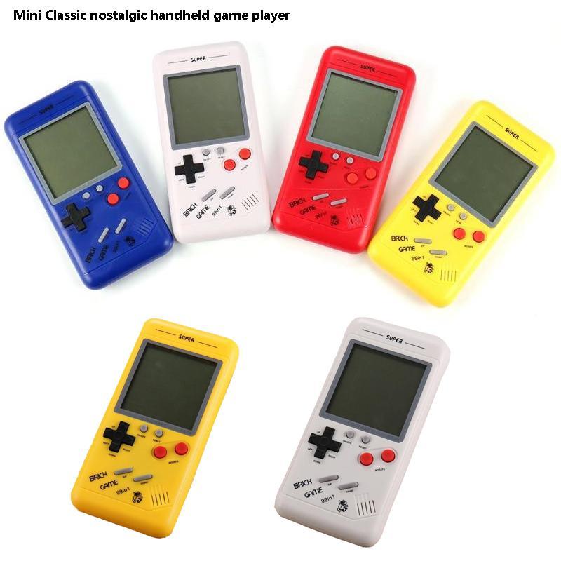 3,5 pollici LCD retrò classico infanzia gioco palmare gioco giocatori di giochi di mattoni console bambini giochi elettronici giocattoli giocattoli palmare gioco di gioco
