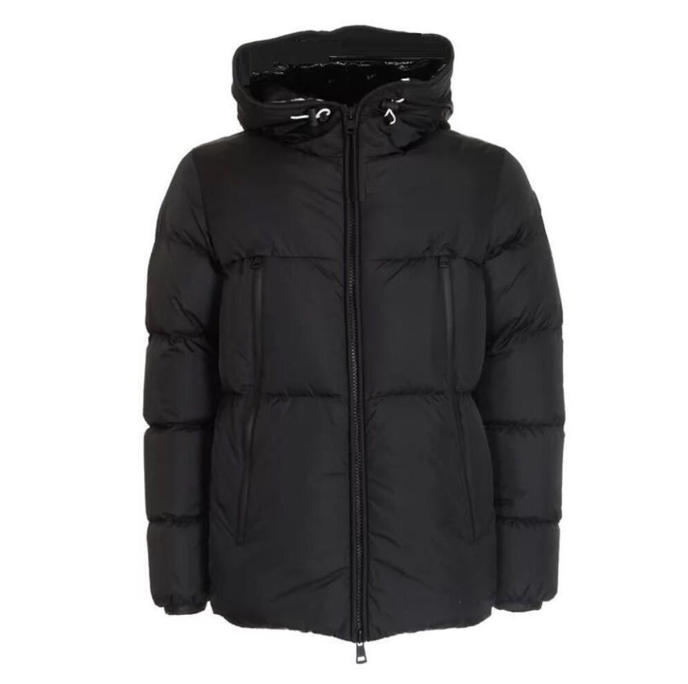 Heißer Verkauf! Herren-Jacken Windjacke dicke warme Kapuze Buchstaben Stickerei beiläufige Art und Weise Winterjacke Daunenjacke
