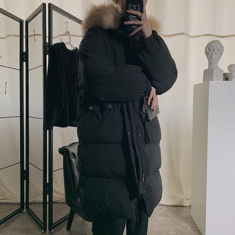 JUSTAR Men's winter new loose cotton padded coat