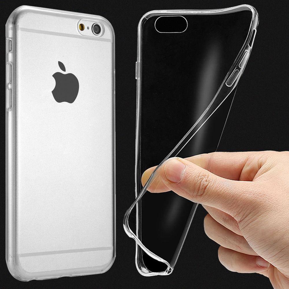 Ultra thin Clear Transparent TPU Silicone XS MAX XR 6 6S 5S Protect Rubber Phone Case For iPhone 8 7 Plus