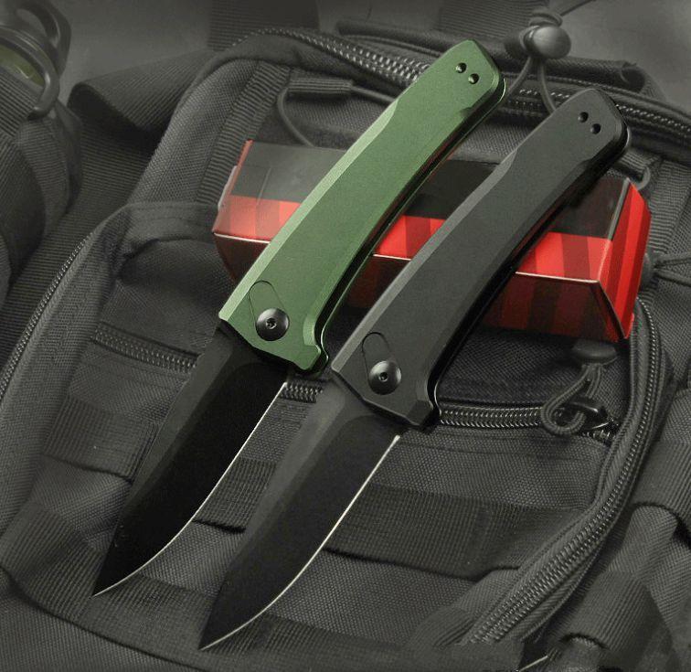 Kershaw 7300 포켓 접이식 칼 CPM 154 블레이드 단일 액션 전술 구조 사냥 낚시 다이빙 EDC 생존 도구 나이프