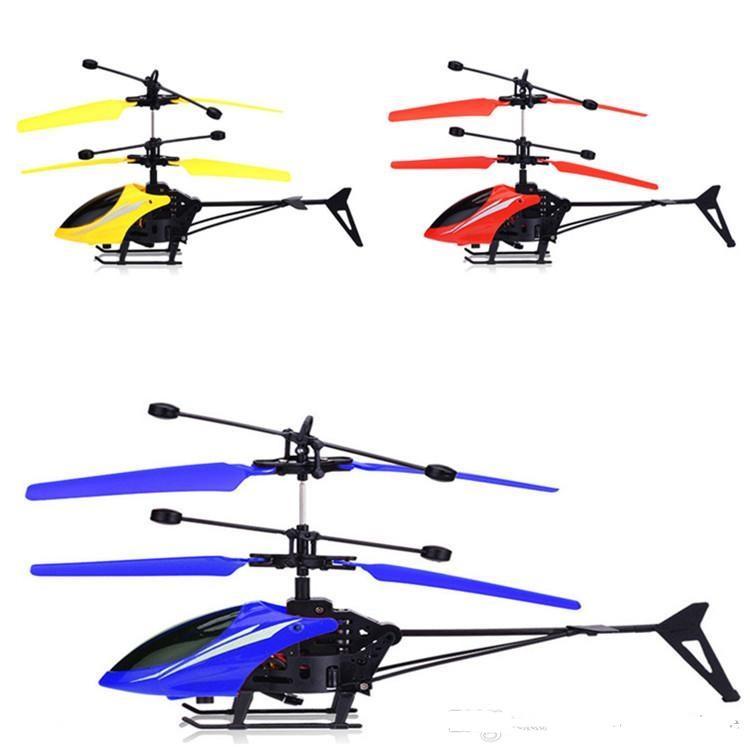 أطفال اللعب الأصالة الساخن بيع أدى أدى تحلق هليكوبتر البسيطة rc الأشعة تحت الحث الطائرات اللمعان ضوء بدون طيار لعب هدايا عيد الميلاد