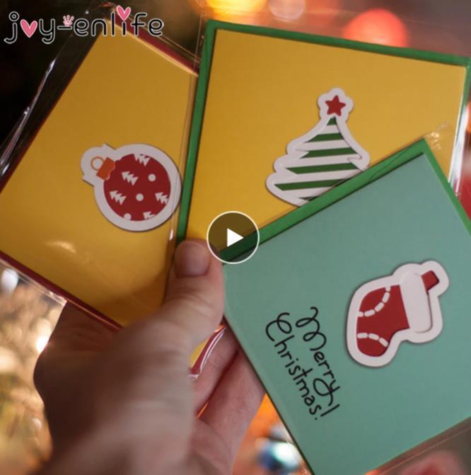 12 قطع الإبداعية مرح عيد الميلاد الصغيرة بطاقات المعايدة الاطفال مصغرة بطاقات المعايدة عيد الميلاد السنة الجديدة بطاقة بريدية هدية بطاقة عيد الميلاد