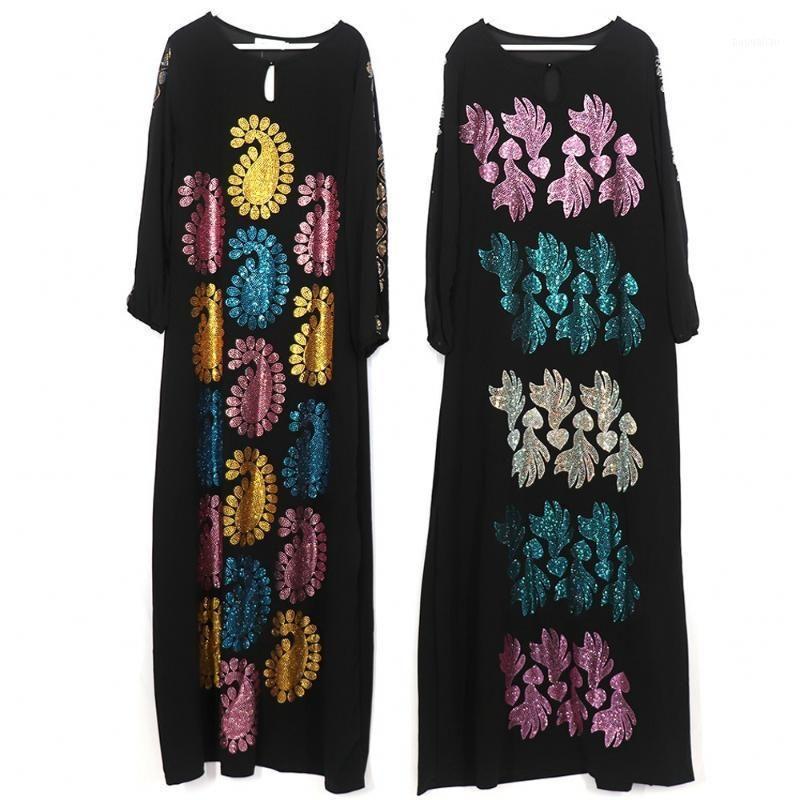 Abbigliamento etnico Abaya Kimono Cardigan Dubai Turchia Hijab Abito musulmano Abiti africani Abiti Abiti africani per le donne Islam Caftano de Moda Musulmana1