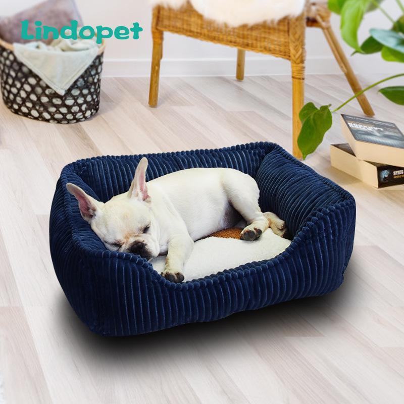 small medium pet dog bed hondenmand for large dogs corduroy 201124