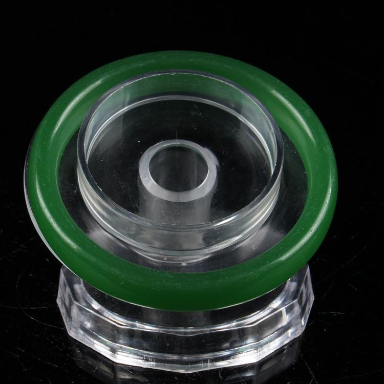 Collection antique chinoise Bracelet Jade à la main vert SZ43