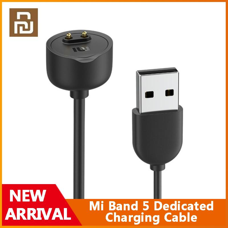 Xiaomi Mi Band 5 Dedicated Charging Cable Portable Magnetic Charge Cable For Mi Band 5 Original Charger Wristband Accessories