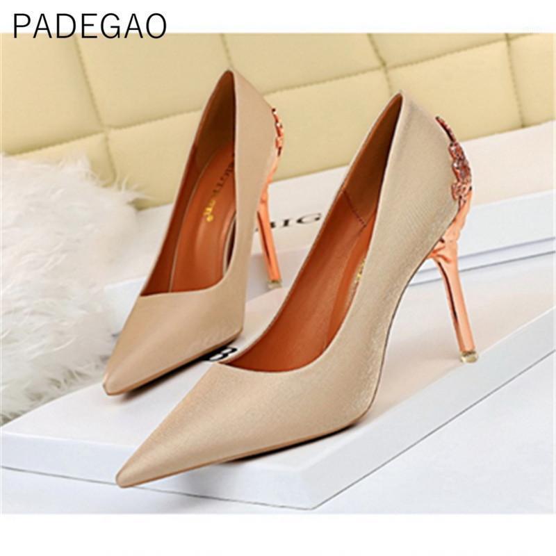Salto alto 2020 mulheres sapatos casamento luxo vintage coreano sexy moda elegante heels1