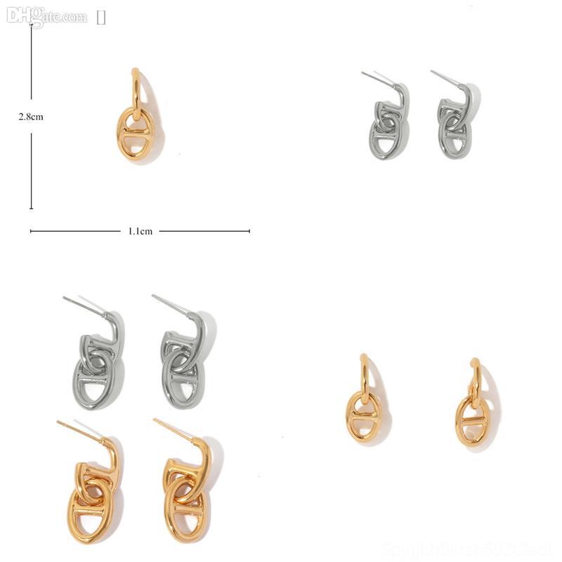 M4LPT ORSA Boucles d'oreilles Cubic Bijoux Femmes Boucles d'oreilles Simple Status Sterling Sterling Silver Flower Boucles d'oreilles Retro Fashion
