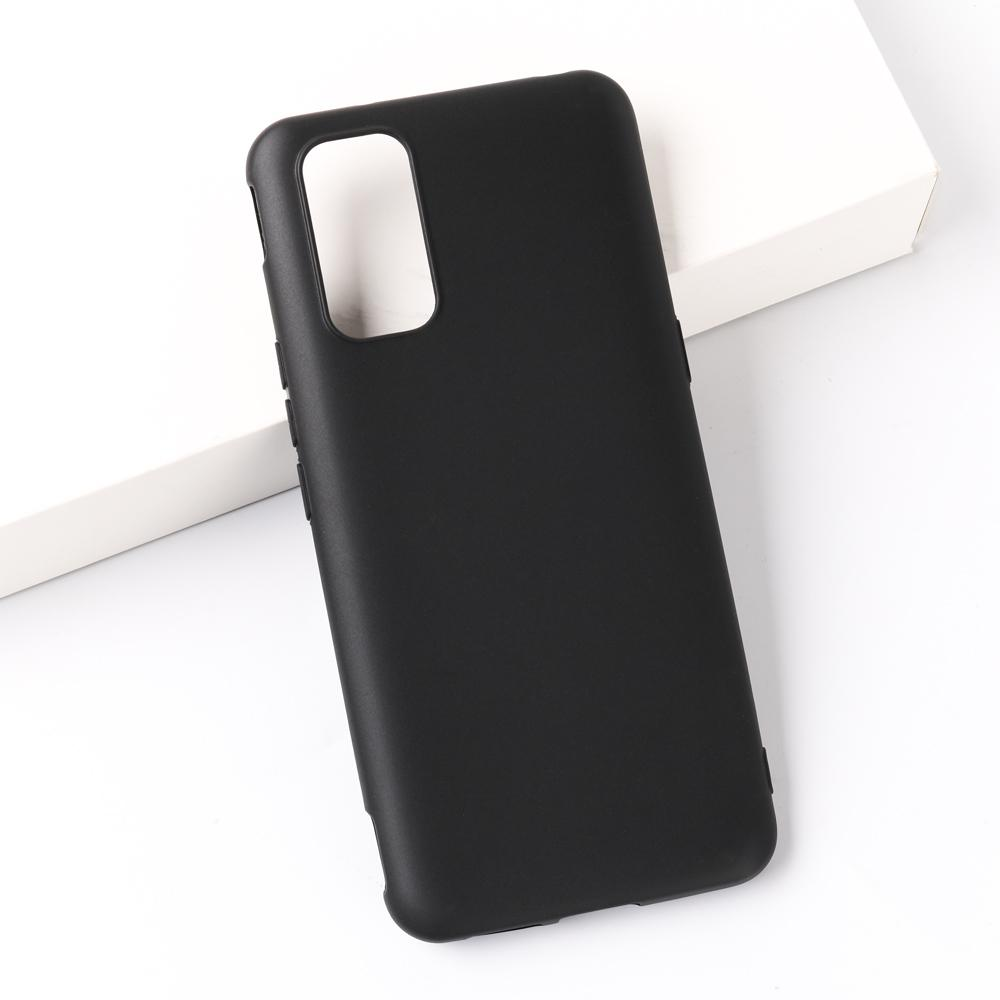 Full matte TPU solid color simple mobile phone case cover for Vivo iQoo3, factory direct sales