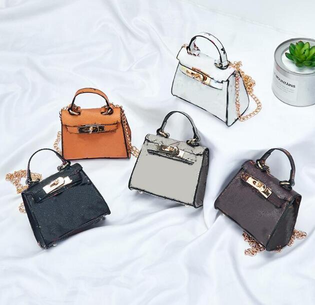 새로운 아이 핸드백 패션 아기 미니 지갑 어깨 가방 십대 어린이 여자 메신저 가방 귀여운 크리스마스 선물 Luxurys 디자이너 가방