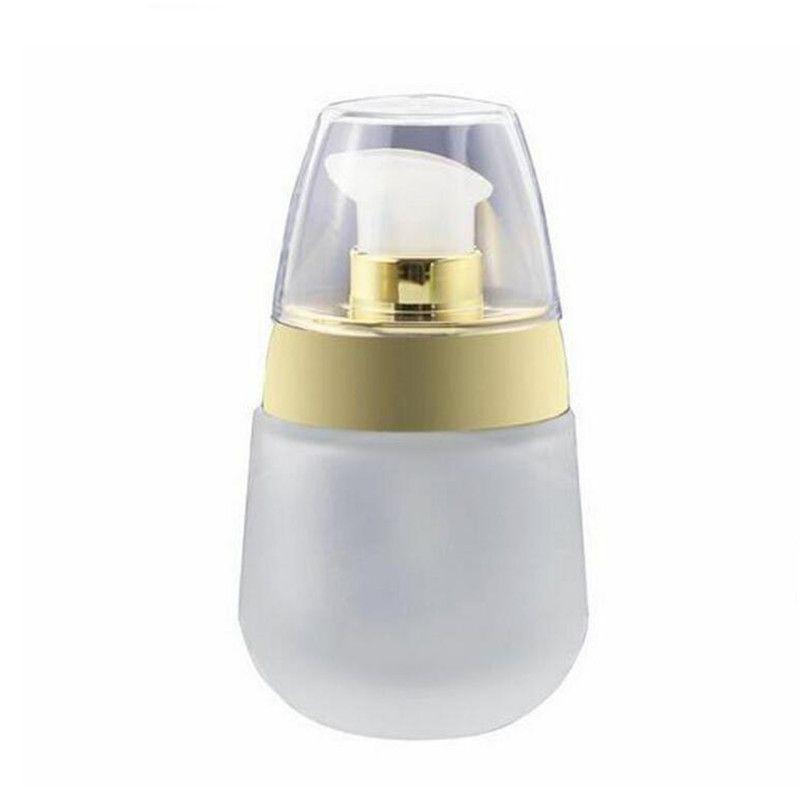 1oz Refillable замороженная пустая банка с прессовой бутылкой косметический контейнер стекло стеклопакета упаковки 30 мл прозрачная крышка MEPAU