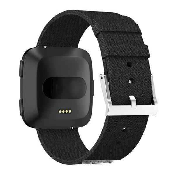 Wearable Smart Devices Acessórios Para Fibit Banda Nylon Tecidos SmartbandStrap Para Fitbit Versa 2 / Versa Lite relógio inteligente Acessórios