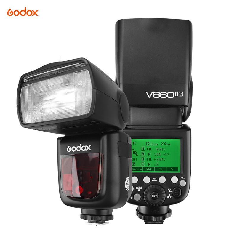 Godox VING V860IIOL Li-Ionen-Kamera-Blitz-Masterslave Blitz Speedlite 2.4G Wireless für die Kamera
