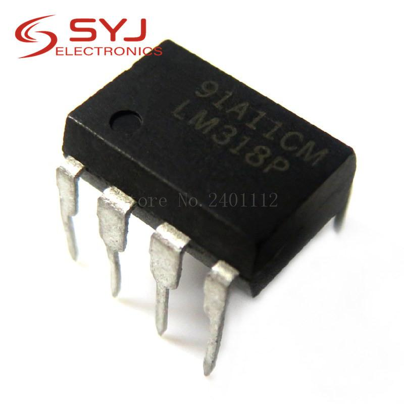 10pcs / lot LM318P LM318N LM318 DIP-8 en stock