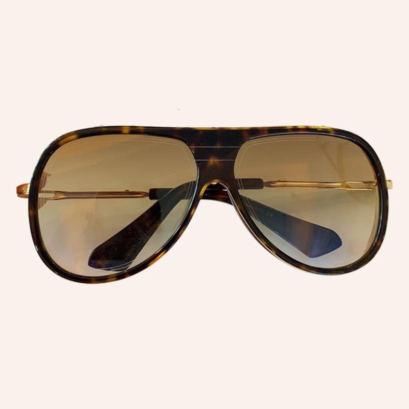 Il nuovo modo datati occhiali da sole donne 2020 del progettista di marca pilota Occhiali da sole femminile Uv400