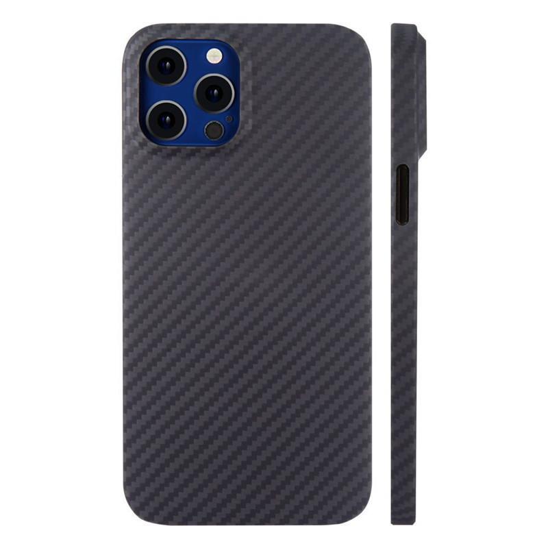 Para iPhone iPhone del teléfono móvil 11 Carcasa 11 Pro Max fibra de aramida de carbono de lujo