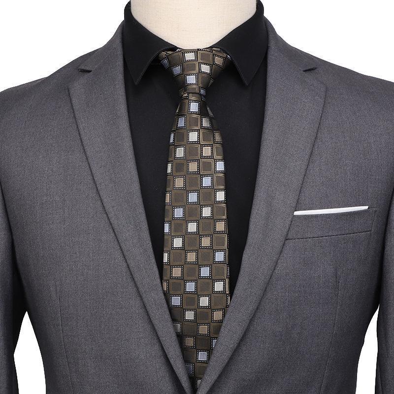 Шея галстуки SitOnjwly 7 см для мужской Классический галстук Paisley Цветочный жаккардовый тканый бизнес галстук аксессуары мужчины пользовательские логотип