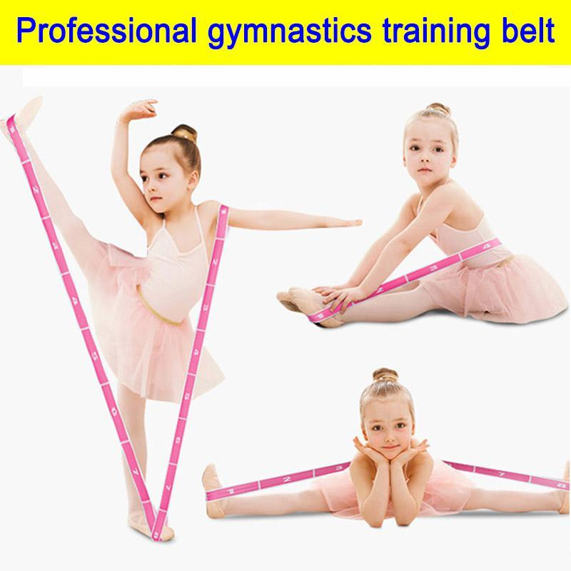 Profession gymnastique Ceinture de formation des adultes enfants corde bandes élastiques Résistance Fitness Force Crossfit Pilates Expander Sport