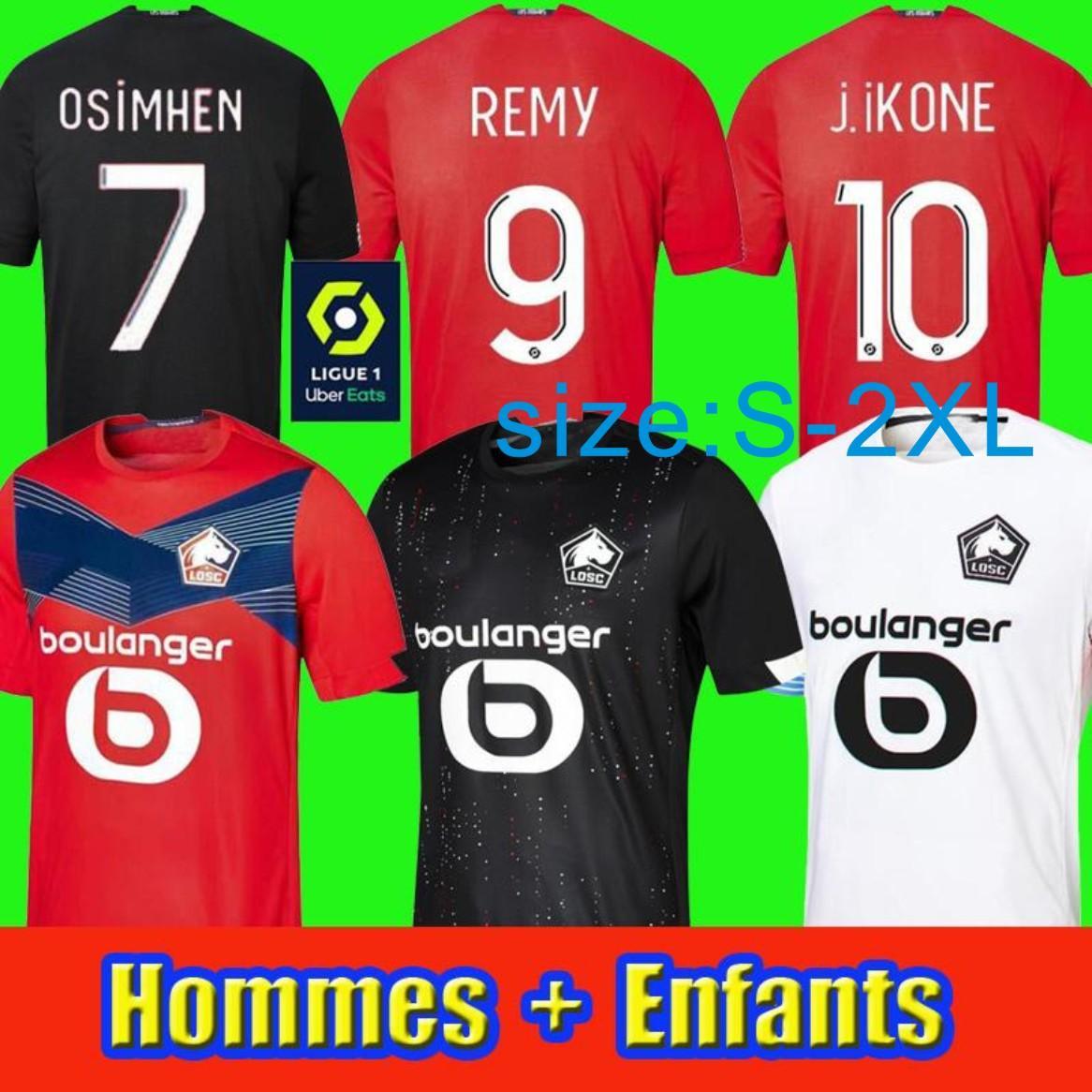 2021 OSC hombres y niños Jerseys de fútbol Fance Sanches Yilmaz Bamba J.DAVID J.IKONE 20 21 Jersey de fútbol