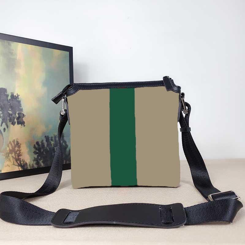 Messenger Sac Mens Handbag Designer Bandes Messenger Sac Porte-monnaie Haute Qualité Cuir Mode Sac à dos Porte-monnaie Haute Qualité