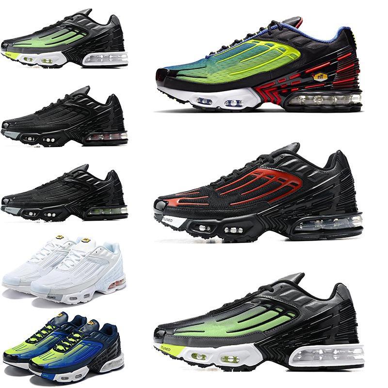 sonbahar yeni Tn Plus 3 Running ayakkabı erkekler III gök mavisi hiper mavi mor bulutsu Womens Eğitmenler Sneakers Sports 36-45 CHAUSSURES