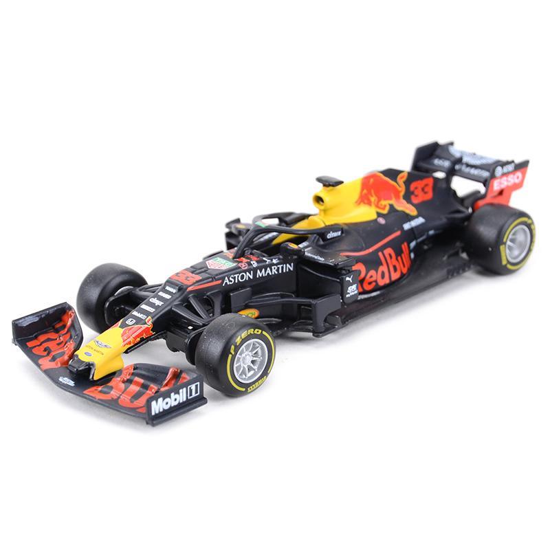 BBurago 1:43 2019 RB15 RB14 RB13 RB12 RB9 # 33 # 1 F1 Corrida Fórmula Carro simulação estática Diecast liga modelo carro y1130