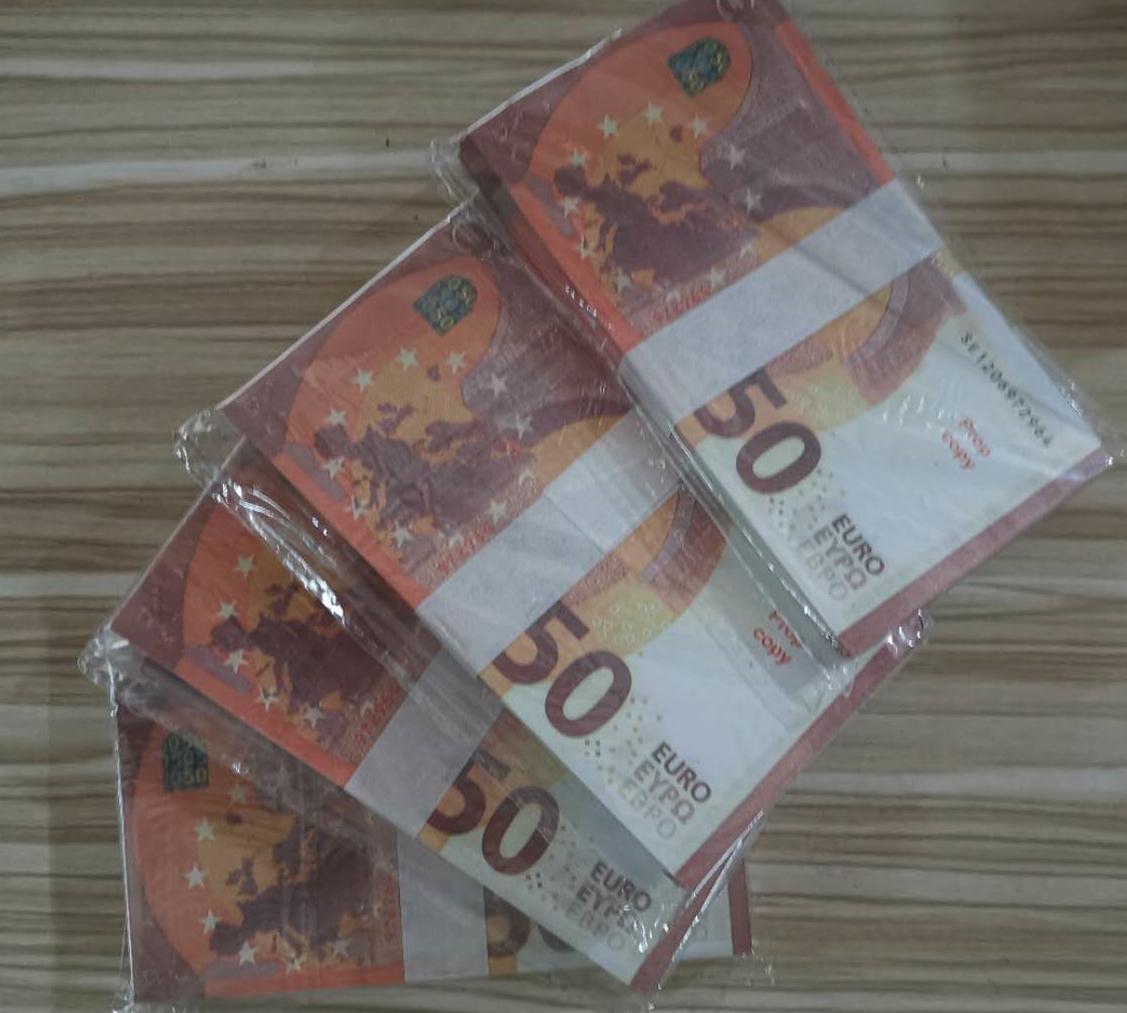 01Magic puntelli euro set completo di giochi creativi di puzzle close-up dei bambini carta bianca in banconote in euro