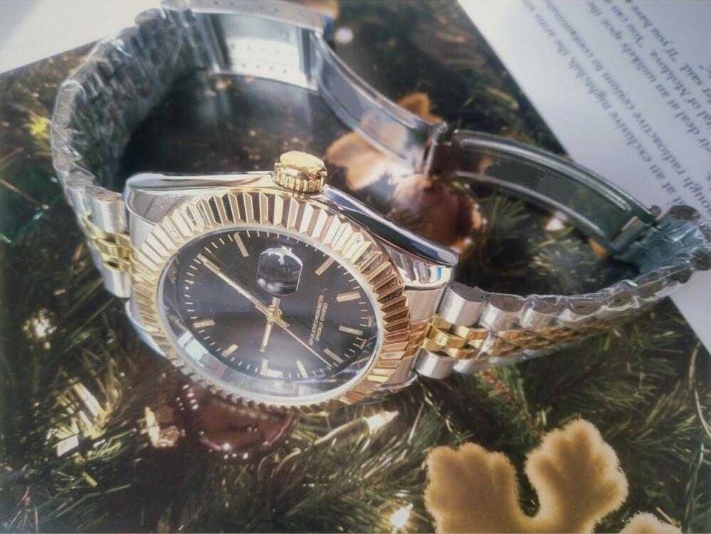 Zaffiro cristallo 40mm moda mens amanti progettista movimento automatico movimenti meccanici uomo donna diamante data da uomo orologi da polso