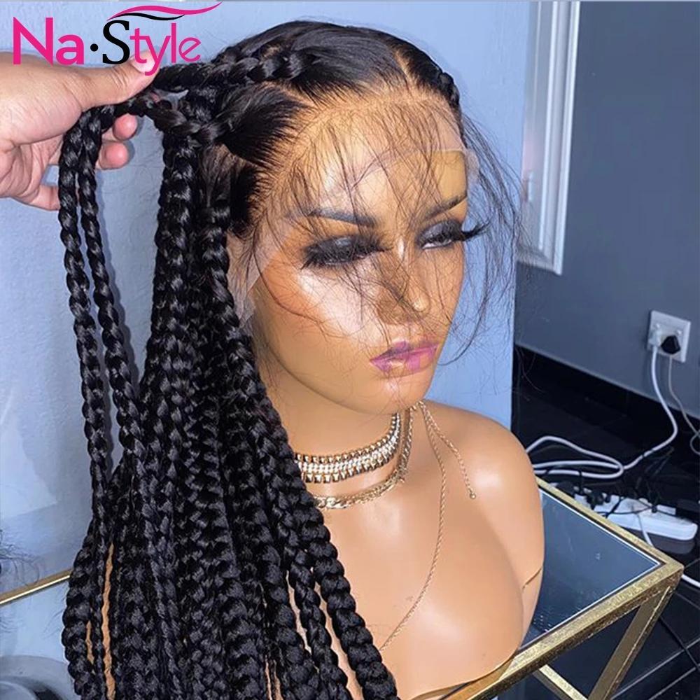 Pelucas de cabello humano frente al encaje recto Pelucas de nudos blanqueados Pelucas Lamotas de encaje completo Pelucas de pelo brasileño Remy Hair 130