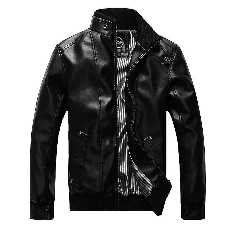 Mens vestes Jaquetta Outerwear Qualité Classic Moto Bike Vélo Cowboy Veste Hommes Cuir Casual Coats Vêtements de marque 5XL