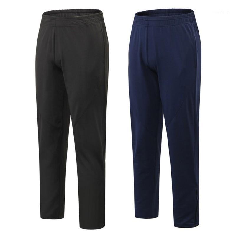Hombres Verano Deportes Estiramiento Secado rápido Higa Pantalones de pie Pantalones deportivos transpirables Fitness Pantalones casuales1