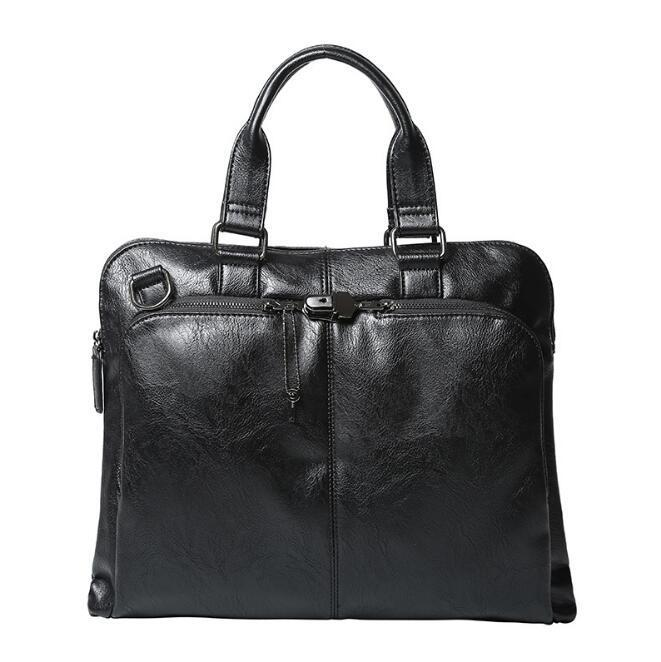 Maletín de bolsas de bolso de bolso de bolso de hombro Mensajero Messenger Casual Kfjvu