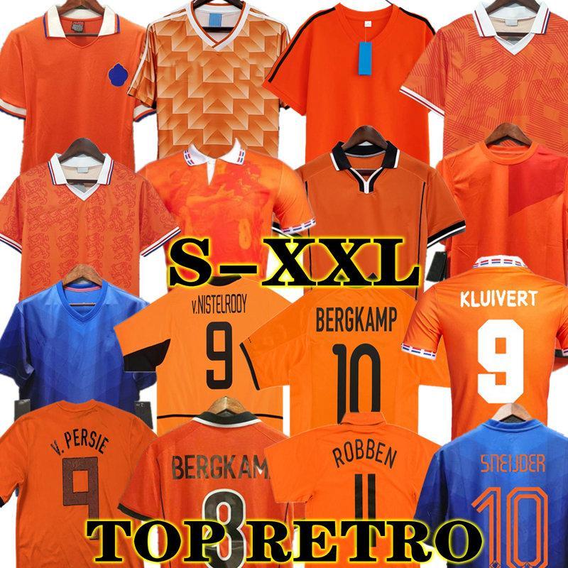 جوليت 1988 ريترو هولندا لكرة القدم جيرسي 2012 فان باستن 2010 2000 2002 1998 1998 90 92 هولندا خمر لكرة القدم قمصان كلاسيكية 1996 Rijkaard Davids