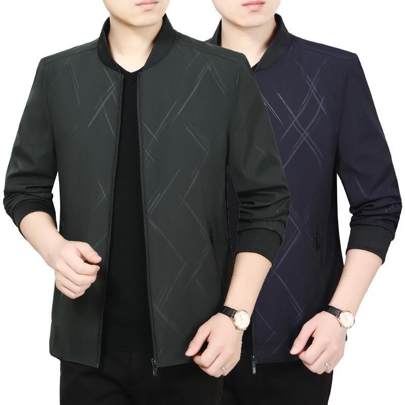 Shanghai Nouvelle Europe Sang 2020 Automne et manteau d'hiver mince Hauts hommes d'âge moyen de